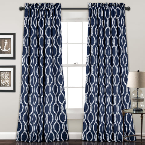 Rope Knot Window Curtains