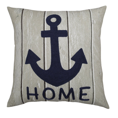 Anchor Home Pillow by Lush Decor