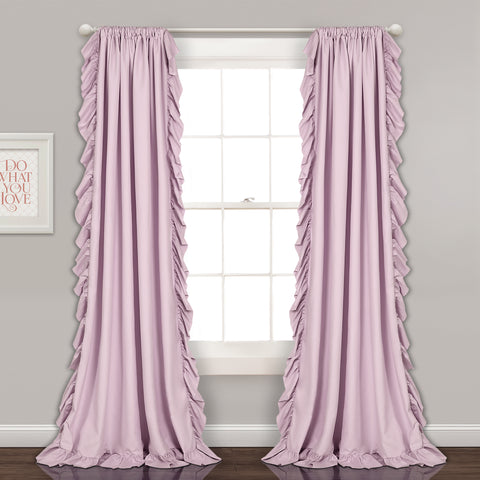 Reyna Lilac Millennial Purple Curtains