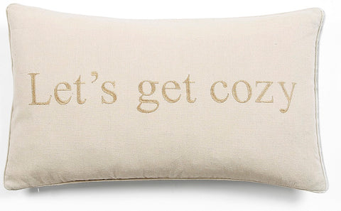 neutral colored decorative pillow