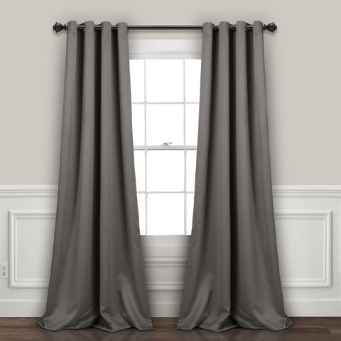 Insulated Grommet Blackout Window Curtains