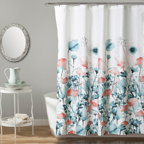 Zuri Flora Shower Curtain by Lush Decor