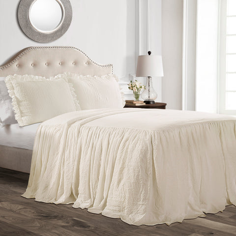 Ruffle Skirt Bedspread Set by Lush Decor