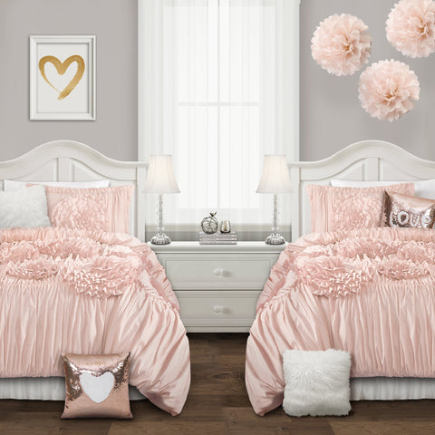 Serena Comforter Set With Decorative Pillows