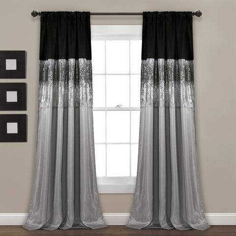 Night Sky Window Curtains by Lush Decor