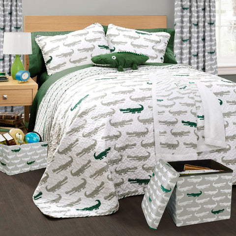 Alligator Collection kids' bedroom set by Lush Decor