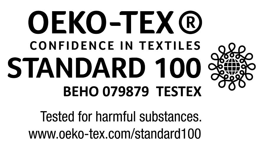 This item is OEKO-TEX®  Standard 100 certified