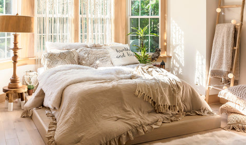 Lush Decor Curated Collection: Boho Neutrals