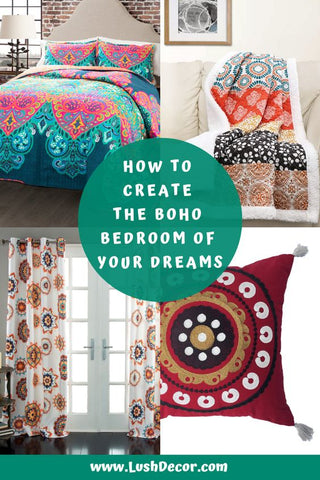 How To Create The Boho Bedroom Of Your Dreams