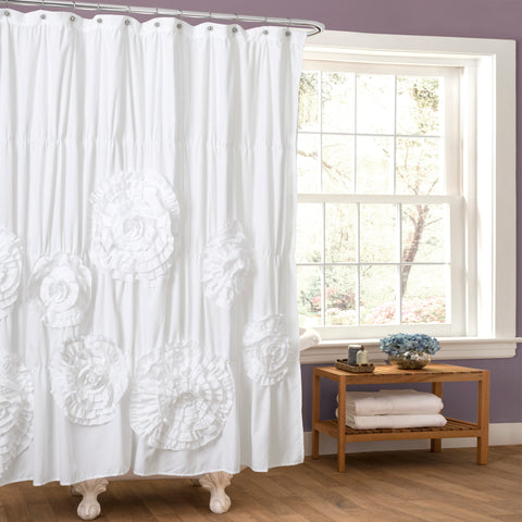 Serena Shower Curtain by Lush Decor