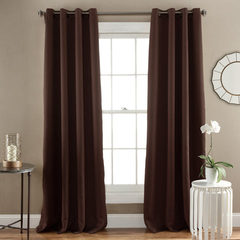 Jamel Blackout Window Curtains by Lush Decor