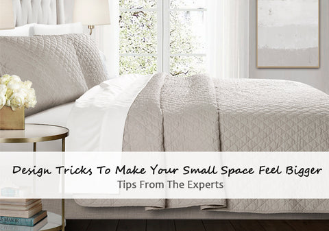 Design Tricks To Make Your Small Space Feel Bigger: Tips From The Experts