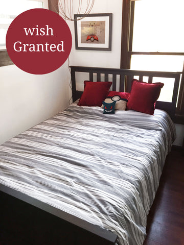 Farmhouse Yarn Dyed Stripe Comforter For Wish Kid Santos