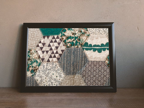 Framed Briley Quilt