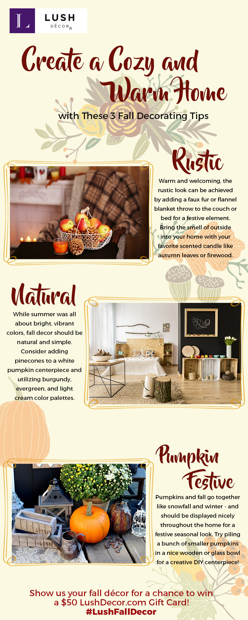 Tips for Decorating For Fall