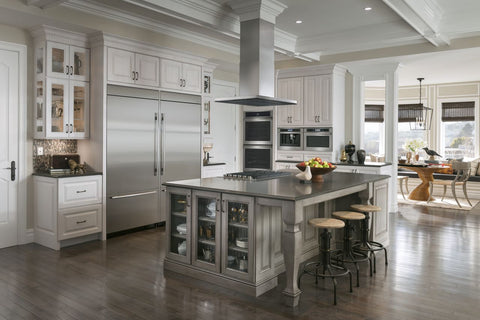 Jenn-Air Stainless Steel Kitchen