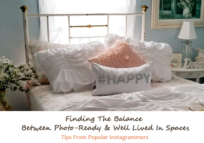 Finding The Balance Between Photo-Ready & Well Lived In Spaces