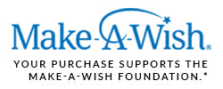 Your purchase of this product supports the Make-A-Wish Foundation