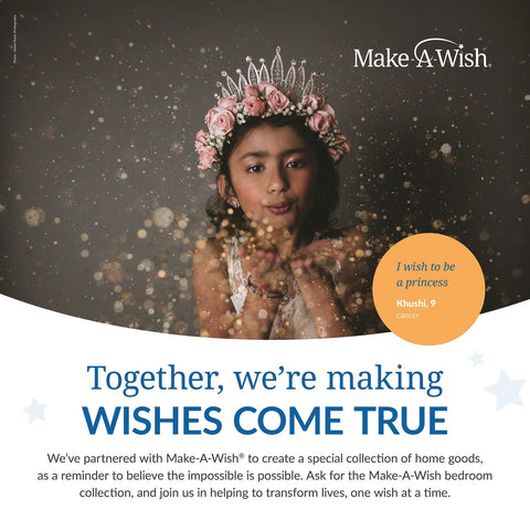 Make A Wish Partnership Poster