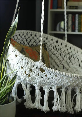 Macrame Knotted Chair