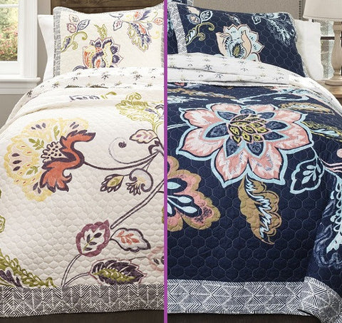 Aster Quilt Sets by Lush Decor