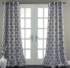 Chainlink Window Curtains
