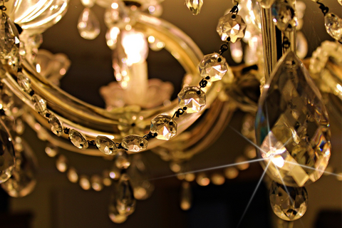 Install Crystal Chandeliers to Spruce Things Up