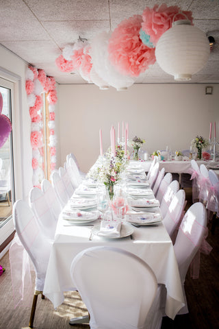 Table cloth and Table decor