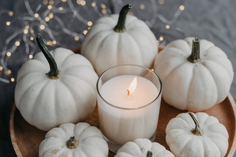 DIY Pumpkin centerpiece for table