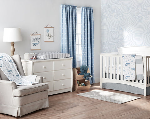 Seaside Curated Nursery Decor by Lush Decor Baby
