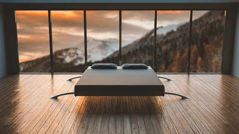 Amazing bedroom wood decor