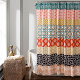 Bohemian Stripe Shower Curtain