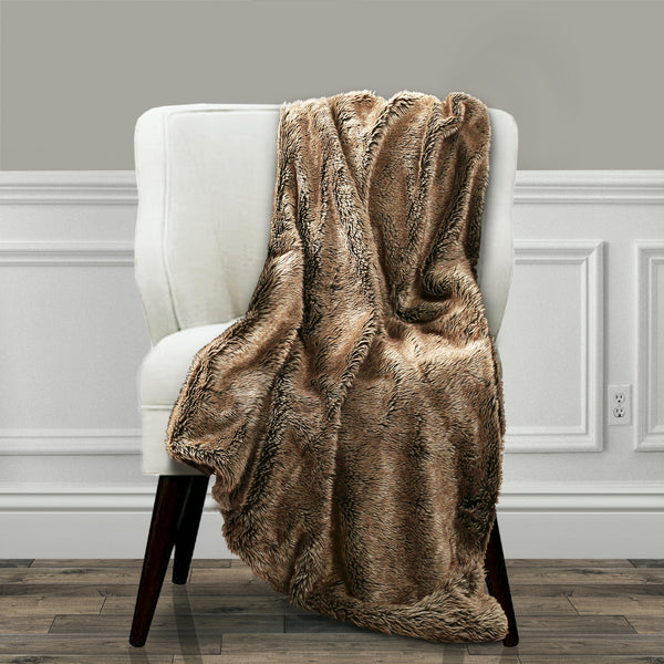 Felix Faux Fur Throw