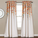 Weeping Flowers Window Curtains