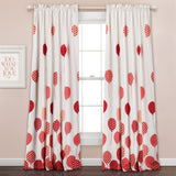 Flying Balloon Room Darkening Window Curtain Set