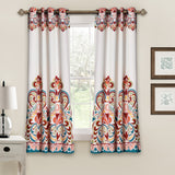 Clara Room Darkening Window Curtains Set 63-Inch
