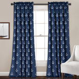 Anchor Room Darkening Window Curtain Set