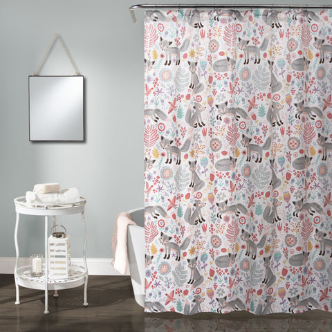 Pixie Fox Shower Curtain