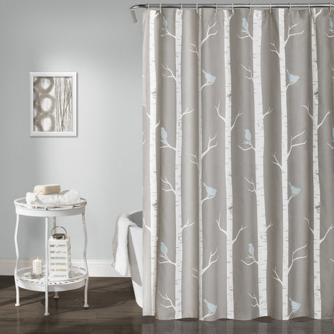 Bird On The Tree Shower Curtain