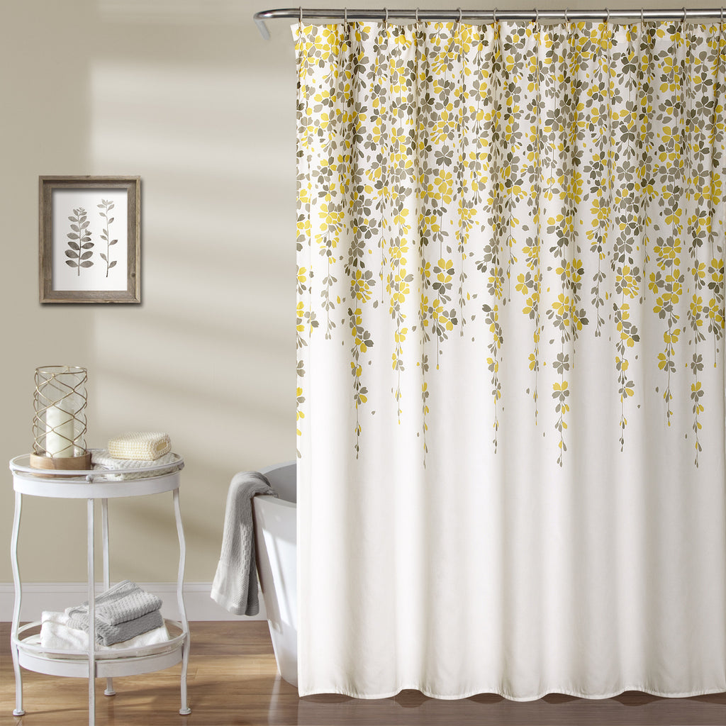 Weeping Flower Shower Curtain Lush Decor Www Lushdecor Com