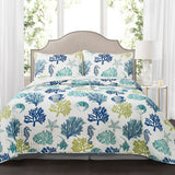 Coastal Reef Quilt 3 Piece Set