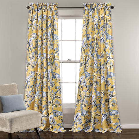 Dolores Room Darkening Window Curtain Set (Pair)