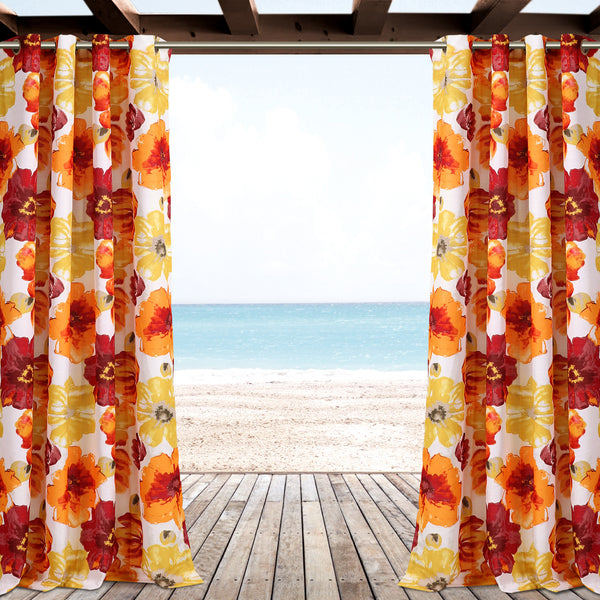 Leah Outdoor Window Curtain Set