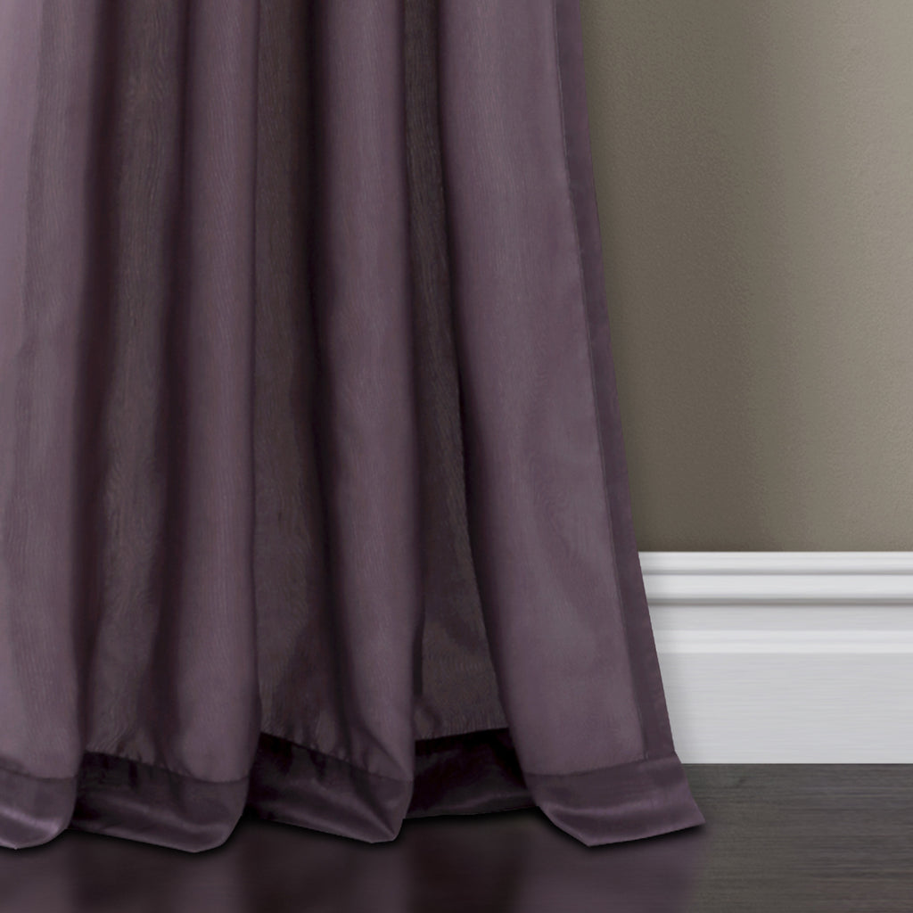 Night Sky Window Curtain Purple Gray Lush Decor Www