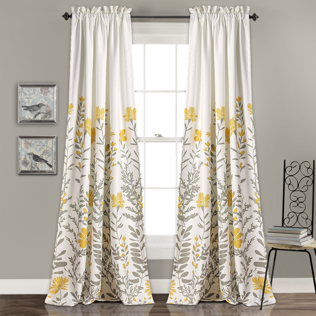 Aprile Room Darkening Window Curtain Set Lush Decor