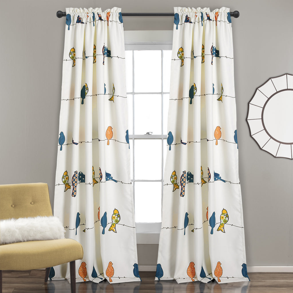 of size and bird with at bedroom picture curtain curtains for market large beads ideas birds