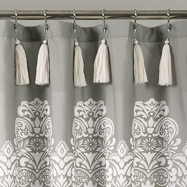Boho Medallion Shower Curtain Lush Decor