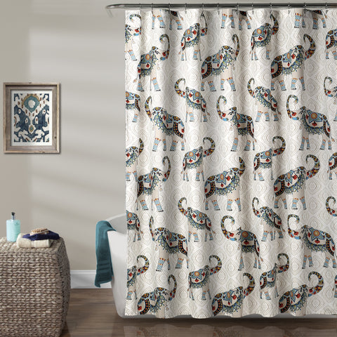 Buy Shabby Chic Shower Curtains Online | Lush Décor | www ...