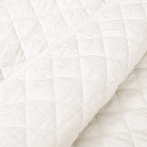 Ava Diamond Oversized Cotton Quilt 3 Piece Set