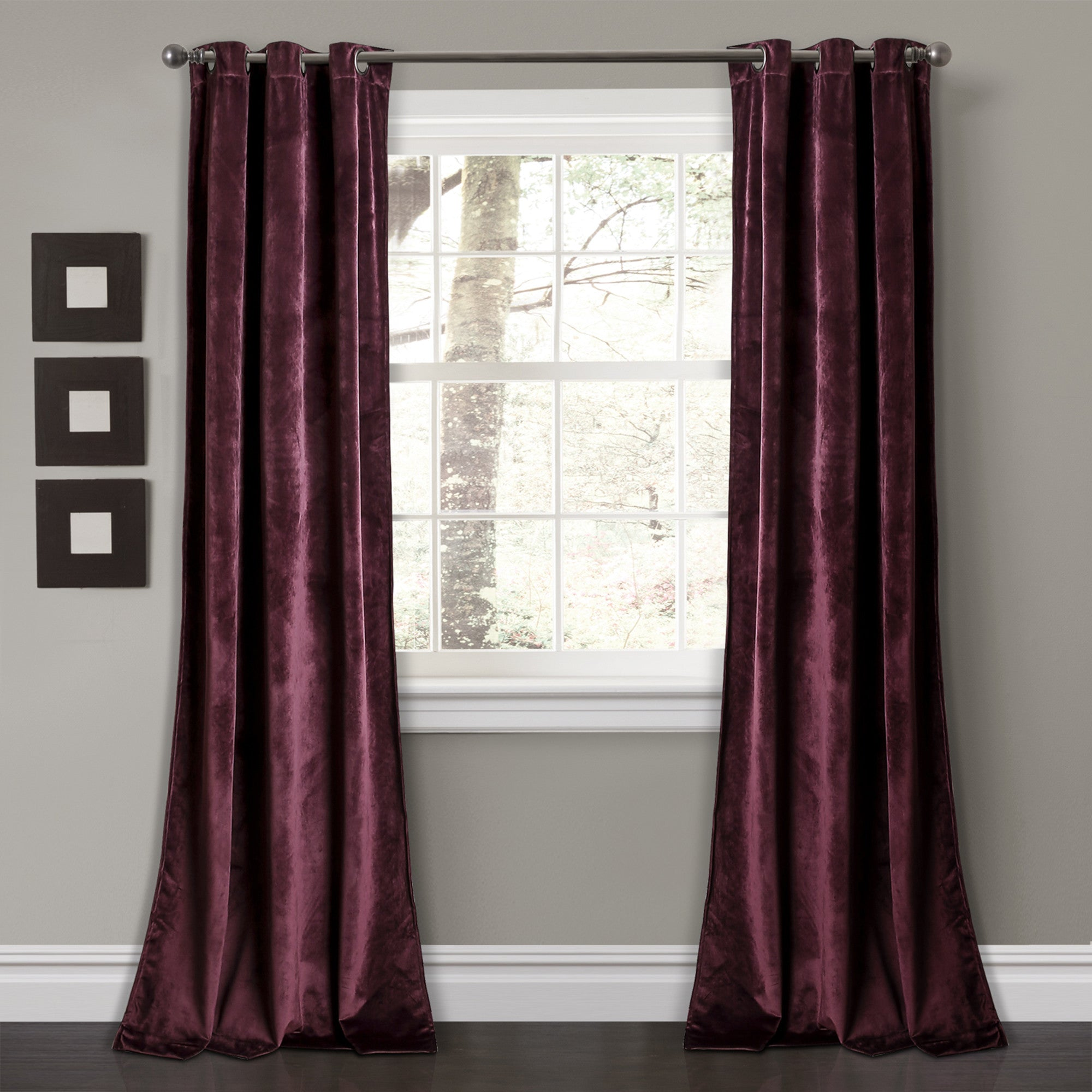 faux marquee velvet pinch panels p silk panel curtain pleat flared